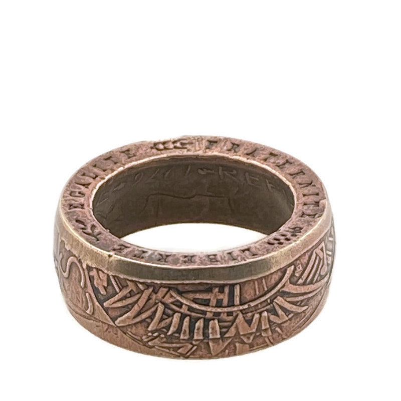 French Coin Ring -Size 5