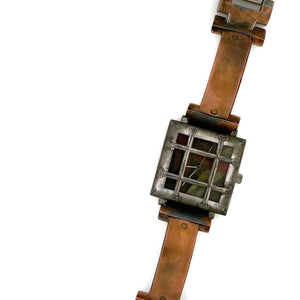 Bars Copper Watch, Multicolor Dial
