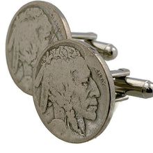Load image into Gallery viewer, Indian Head Coin Cufflinks