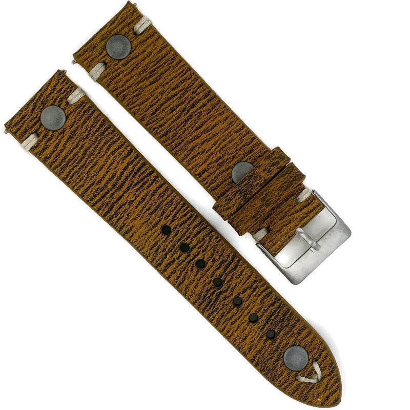 22MM Watch Leather Band