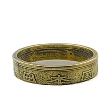 Load image into Gallery viewer, Japan Five Yen Coin Ring -Size 12