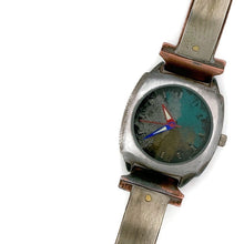 Load image into Gallery viewer, Watch With Silver Blue, Silver & Gold Dial