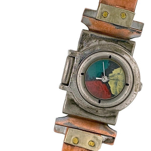 Women's Copper Watch, Multicolor Dial