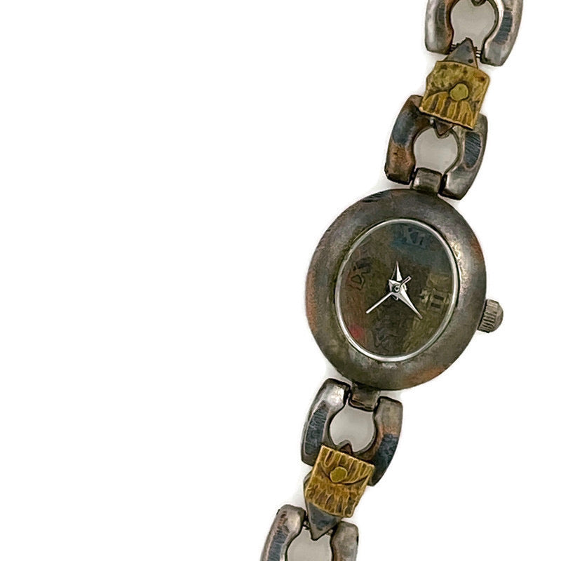 Small Women's Watch, Multi Color Dial