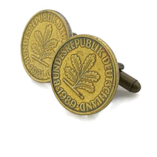 Load image into Gallery viewer, Deutschland Coin Cufflinks