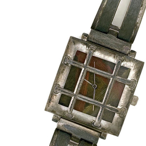 Bars Watch,  With Earth Tone Dial