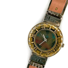 Load image into Gallery viewer, Women's Copper & brass Watch, Multi Color Dial