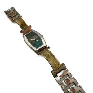 Women's Watch silver, Multi color Dial