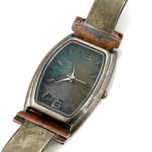 Load image into Gallery viewer, Watch With Silver, Blue, Silver & Gold Dial