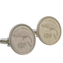 Load image into Gallery viewer, Ireland Coin Cufflinks