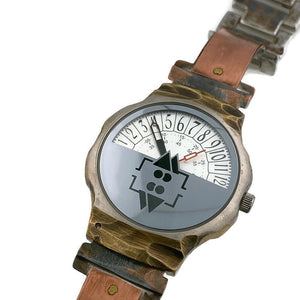 Men's Copper Watch With Military Time