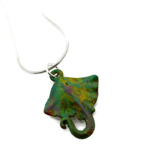 Stingray Patina Necklace
