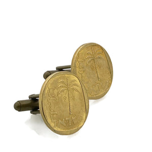Israel Coin Cufflinks