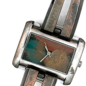 Women's Watch With Multi Color Dial
