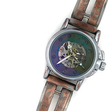 Load image into Gallery viewer, Small Automatic Mechanical Watch, blue Dial