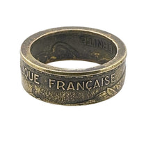 Load image into Gallery viewer, French Coin Ring -Size 5 1/2