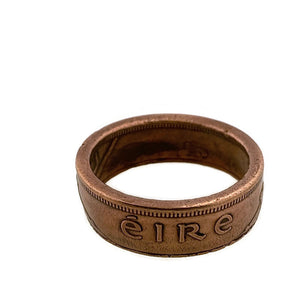 Copper Ireland Coin Ring Eire -Size 12