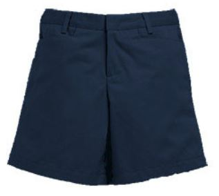 Navy girls shorts