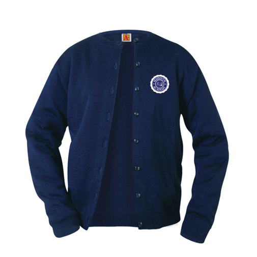 Madison Academy girls cardigan sweater