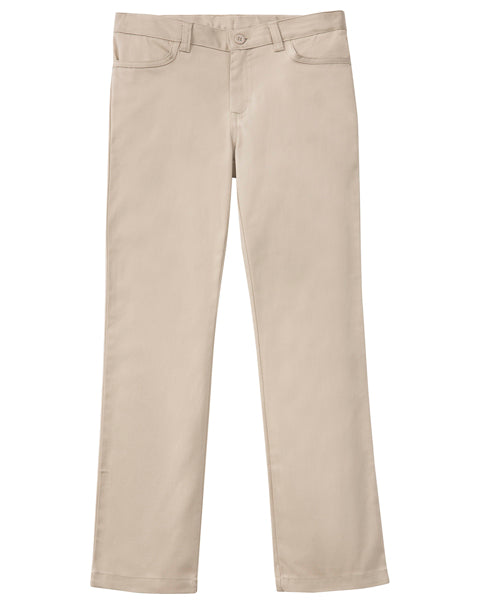 BA Girls Adult Stretch Matchstick Pant- Khaki