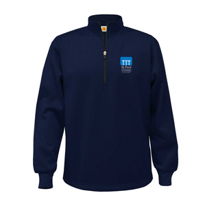 St. Paul dry-fit fleece-lined quarter-zip