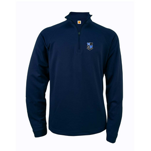 GBA dry-fit light quarter-zip