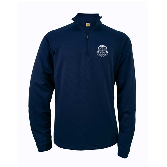 SHCS dry-fit light quarter-zip