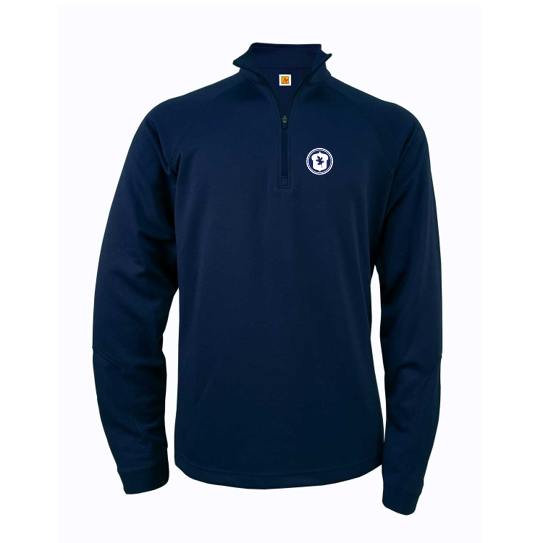 OHS dry-fit light quarter-zip
