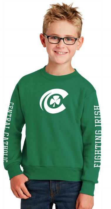 CCHS youth crew-neck sweatshirt
