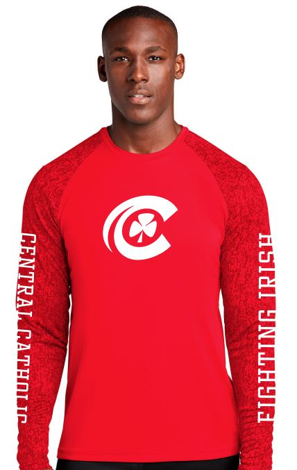 CCHS digi-camo long-sleeve performance t-shirt