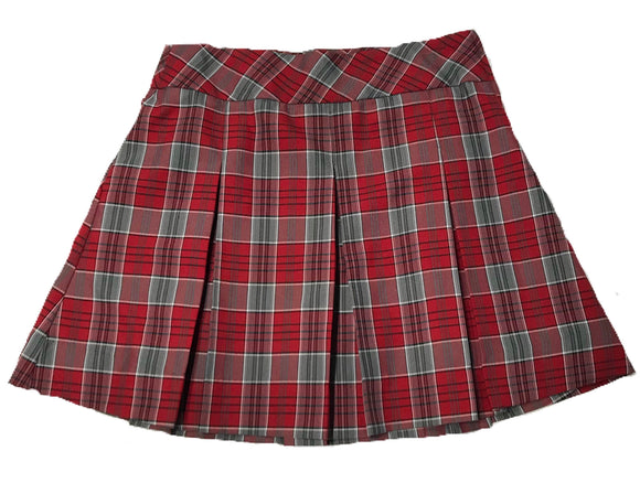 CCHS plaid skirt