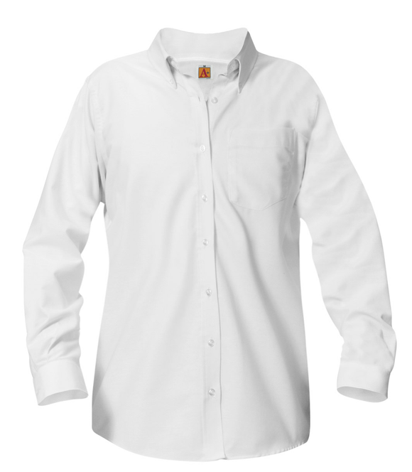 CPA girls long-sleeve Oxford