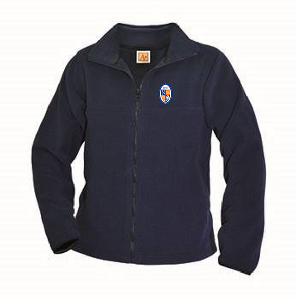 NCS full-zip fleece jacket