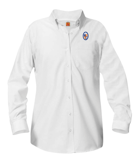NCS girls long-sleeve Oxford