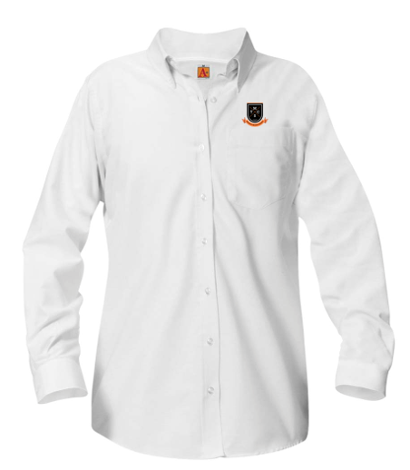 MTCS girls long-sleeve Oxford