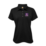 CPA short-sleeve girls fitted polo