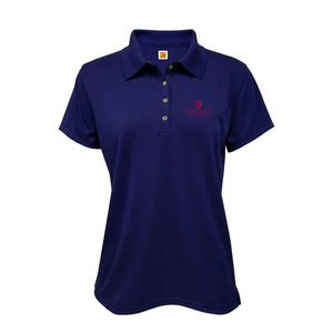 BA short-sleeve girls fitted polo