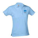 St. Paul short-sleeve girls fitted polo