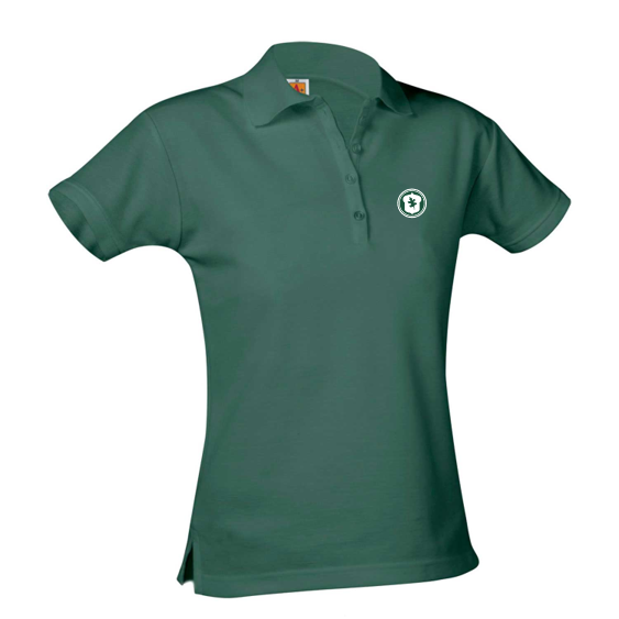 OHS short-sleeve girls fitted polo