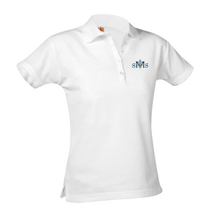 SMS short-sleeve girls polo