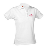 NCS short-sleeve girls fitted polo