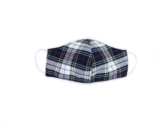 St. Matthew plaid mask