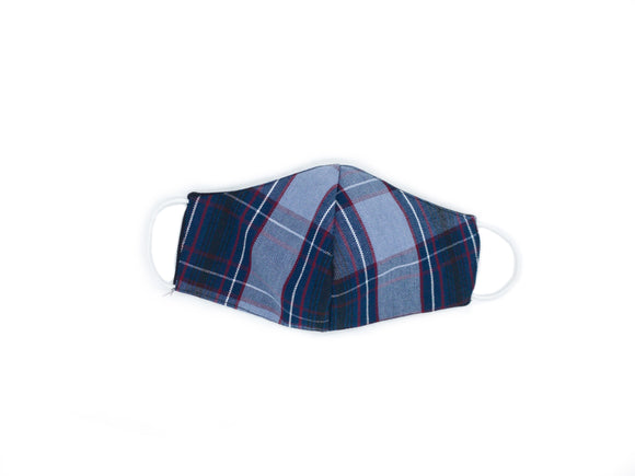 BA plaid mask