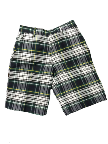 OHS plaid husky shorts
