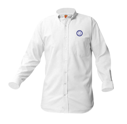 Madison Academy long-sleeve unisex Oxford