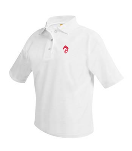 CCHS short-sleeve girls polo