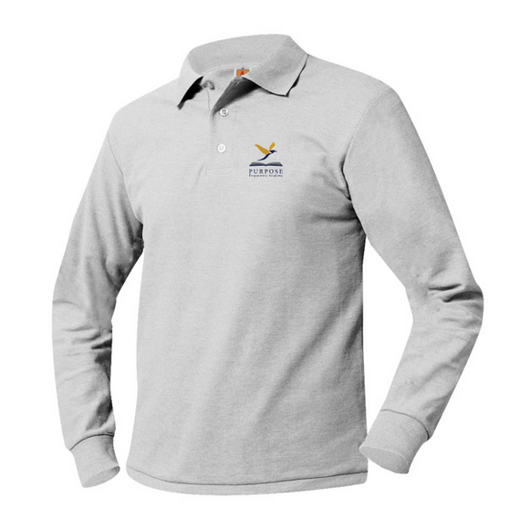 Purpose Prep long-sleeve polo