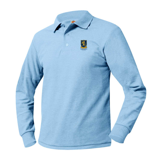 HRA long-sleeve polo