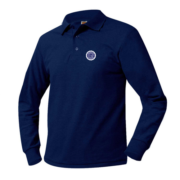 Madison Academy long-sleeve polo
