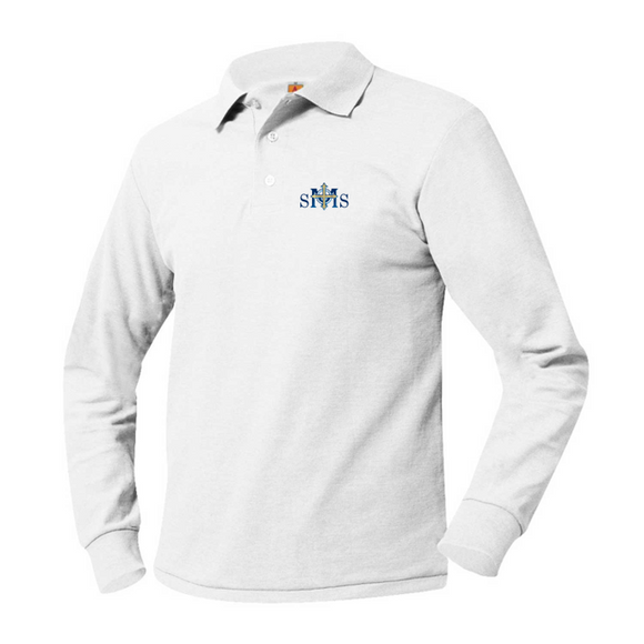 SMS Long Sleeve Polo